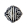 SS.925 Bead Ball Swirls 16mm